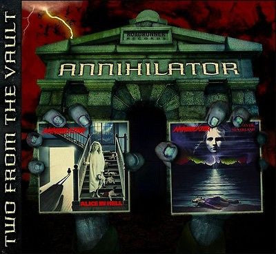 Annihilator CD, Alice in Hell + Never Neverland, SEALED, 2-Discs, Roadrunner