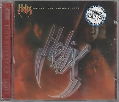 Helix CD, Walkin the Razor's Edge, SEALED, Canada Import, Rock You, Walking