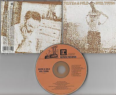 Neil Young CD, Silver & Gold, HDCD, Original 2000 Reprise