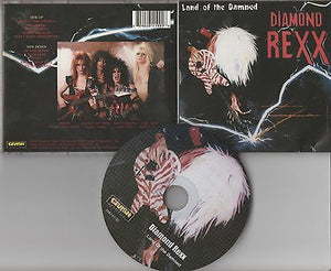 Diamond Rexx CD, Land of the Damned, Crash Music Classics, D.Molls