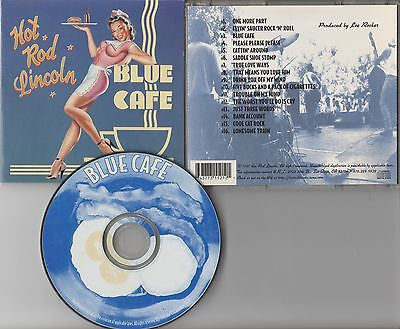 Hot Rod Lincoln CD, Blue Cafe, RARE, Stray Cats, Orig 1997 Indie, Brian Setzer