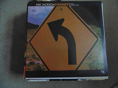 Milt Jackson LP, Goodbye w/ Huber Laws, CTI 6038, EX/NM