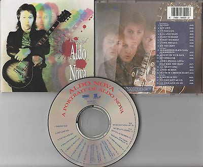 A Portrait of Aldo Nova CD, Orig 1991 Epic / Legacy, Best Of, Greatest Hits