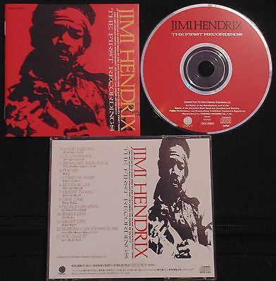 Jimi Hendrix CD, The First Recordings, Japan Import, Original Teichiku Records