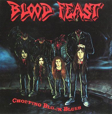 Blood Feast Cassette, Chopping Block Blues, RARE 1st Press, Orig 1989 Colossal