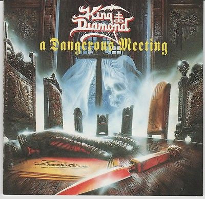 King Diamond CD, A Dangerous Meeting, Original 1992 Roadrunner, Mercyful Fate
