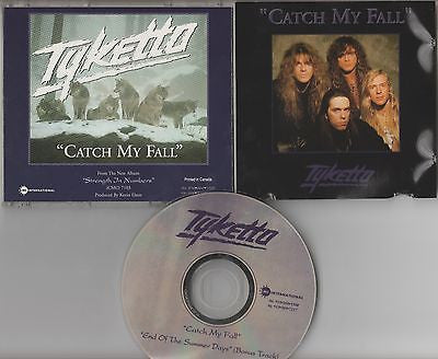 Tyketto CD, Catch My Fall, Single,Original 1992 CMC, Waysted, End of Summer Days