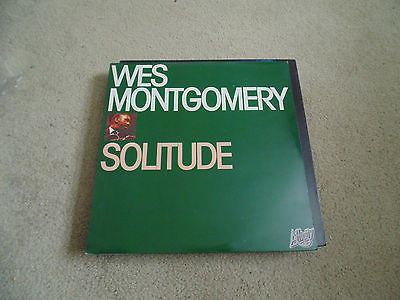 Wes Montgomery LP, Solitude, Affinity Pressing AFF18, M/NM