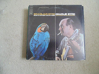 LP Brazilian Byrd, Charlie Byrd, Music of Antonio Carlos Jobin, CS-9137, EX