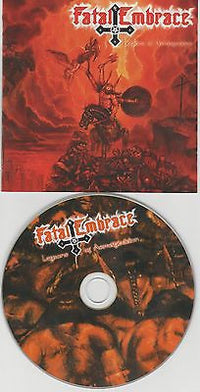 Fatal Embrace CD, Legions of Armageddon, German Import, Twilight Records