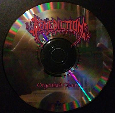 Benediction, CD, Organised Chaos, Original Nuclear Blast, Napalm Death, 6522-2