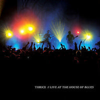 Thrice CD, Live at the House of Blues, 3-Disc Box Set, DVD + 2 CDs, 2008 Vagrant