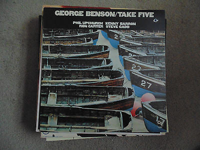 George Benson LP Take Five, Phil Upchurch, Kenny Barron, CTI 8014, EX/NM