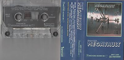 Megaforce Cassette, From the Megavault, RARE, Overkill, Anthrax, SOD, TT Quick