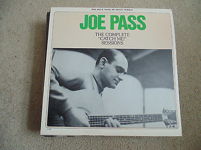 Joe Pass LP, The Complete Catch Me Sessions, Blue Note LT-1053, NM