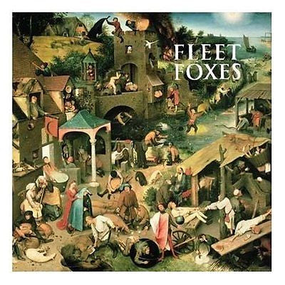 Fleet Foxes CD, Self-titled, 2008 Sub-Pop, Robin Pecknold, S/T, Same