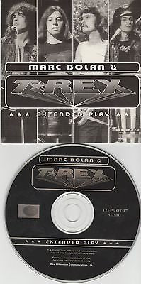 Marc Bolan & T-Rex CD, Extended Play, RARE UK Import, Original 1997 NMC
