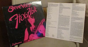 Steve Vai LP, Flex-able Leftovers, RARE 10-inch, Original 1984 Urantia,Alcatrazz