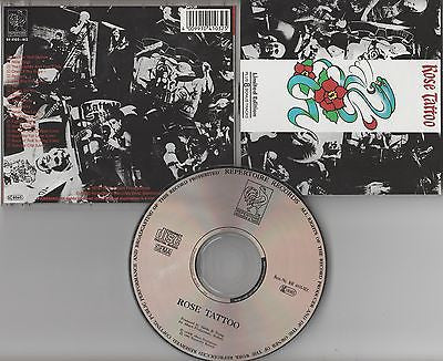 Rose Tattoo CD,Self-titled, Limited Edition,German Import,1990 Repertoire, Bonus
