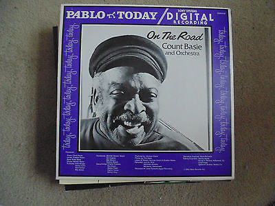 On the Road Count Basie & Orchestra LP, Digital Red Vinyl, M/NM - Jazz