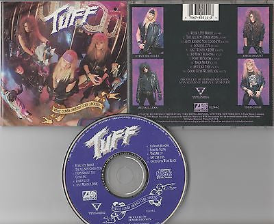 Tuff CD, What Comes Around Goes Around, 1st Press 1990 Atlantic, RARE