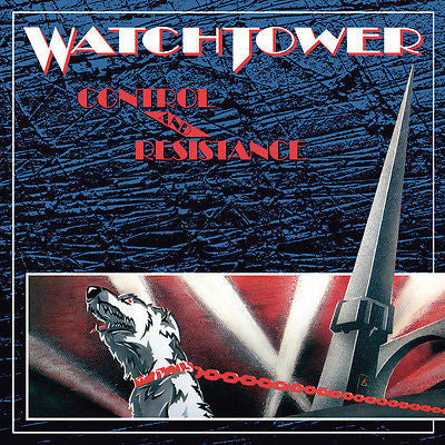 Watchtower Cassette,Control & Resistance, RARE 1st Press,1989 Noise, Spastic Ink