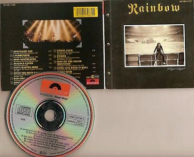 Rainbow CD, Finyl Vinyl, West German Import, Dio, Alcatrazz, 1986 Polydor