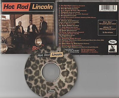 Hot Rod Lincoln CD, Boulevard, RARE, Stray Cats,Orig 1995 Dionysus, Brian Setzer
