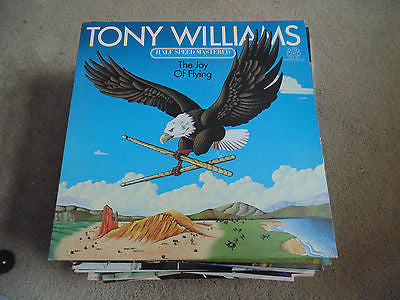 Tony Williams LP, Joy of Flying, Herbie Hancock, Stanley Clarke, Jan Hammer,MNM