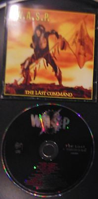 W.A.S.P. CD, The Last Command, Bonus, 17 Tracks, Hellion, Wasp, Animal