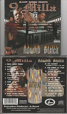 9-Milla CD, Round Duice, RARE  2001 In-Capp Records, Pak-Man, OOP, Tay Loca