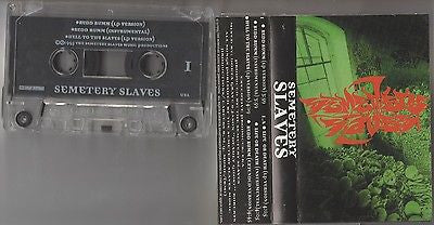 Semetary Slaves Cassette, Self-titled, RARE 1995 Indie Press, OOP, S/T, Same