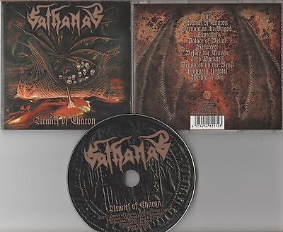 Sathanas CD, Armies of Charon, UK Import, RARE, 1997 Conquistador, OOP