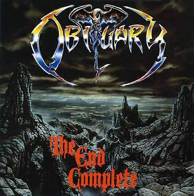 Obituary CD, The End Complete, Original 1992 Roadrunner, 1st Press