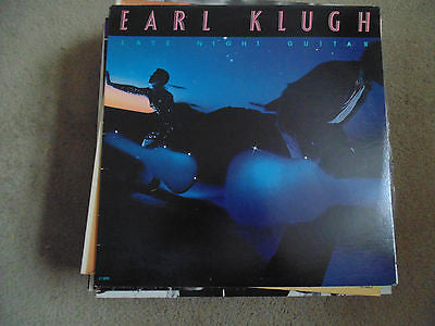 Earl Klugh LP, Late Night Guitar, Liberty LT-1079, NM, Jazz
