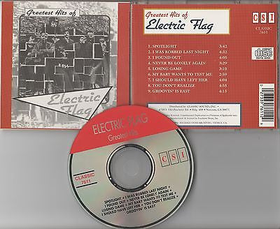 Electric Flag CD, Greatest Hits, Original 1993 Classic Sound, Buddy Miles