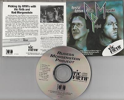 Rudess Morgenstein Project CD, Vic Firth Play Along, Dixie Dregs, Dream Theater
