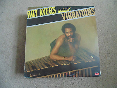 Roy Ayers LP, Ubiquity Vibrations, Polydor