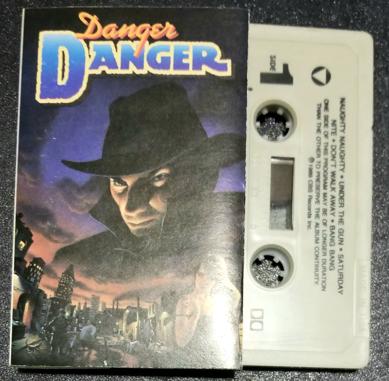 Danger Danger Self-Titled, Same, S/T Cassette