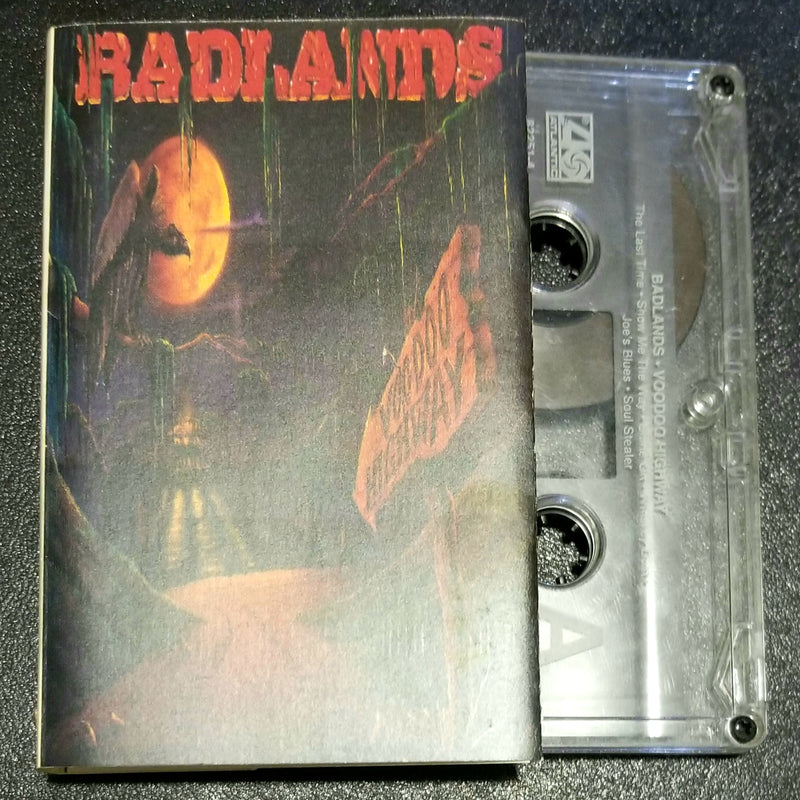 Badlands Voodoo Highway Cassette Jake E. Lee, Ray Gillen, Greg Chaisson