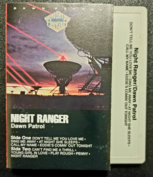 Night Ranger Dawn Patrol Cassette