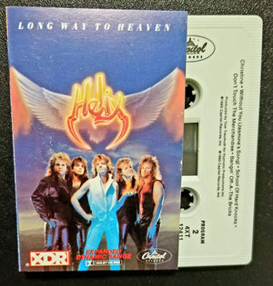 Helix Long Way to Heaven 1985 Cassette