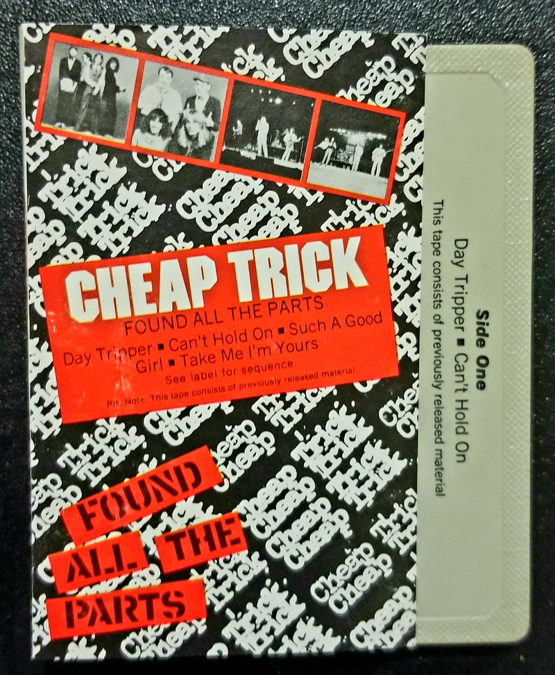 Cheap Trick Found All The Parts EP 1980 Cassette