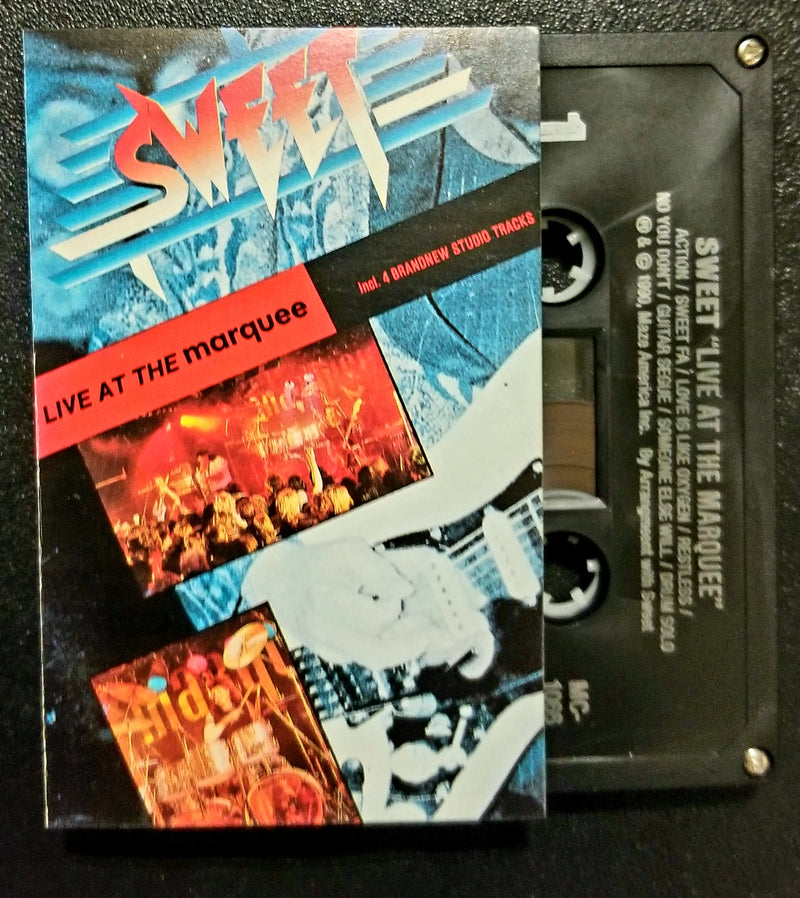 Sweet Live at the Marquee 1990 Cassette