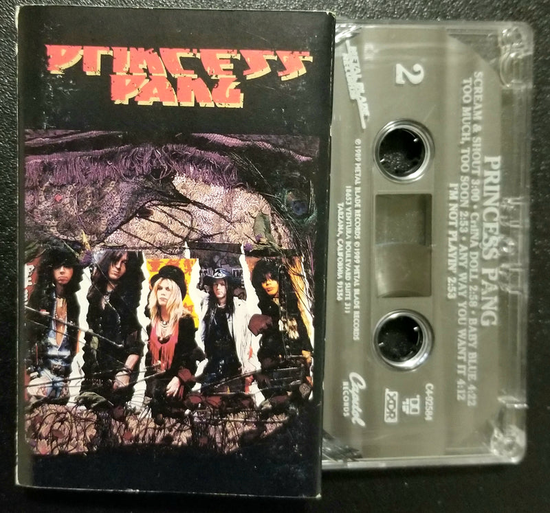 Princess Pang Self-Titled, S/T, Same 1989 Cassette Metal Blade / Capitol