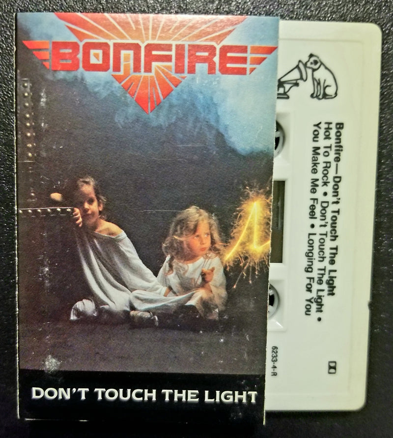 Bonfire Don't Touch the Light 1986 Cassette