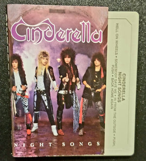 Cinderella Night Songs 1986 Cassette