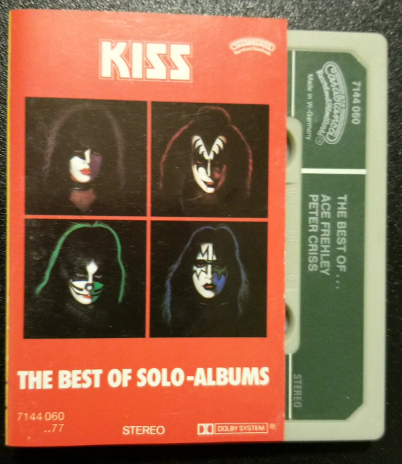 KISS The Best of Solo Albums Cassette