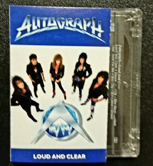 AUTOGRAPH Loud and Clear 1987 Cassette