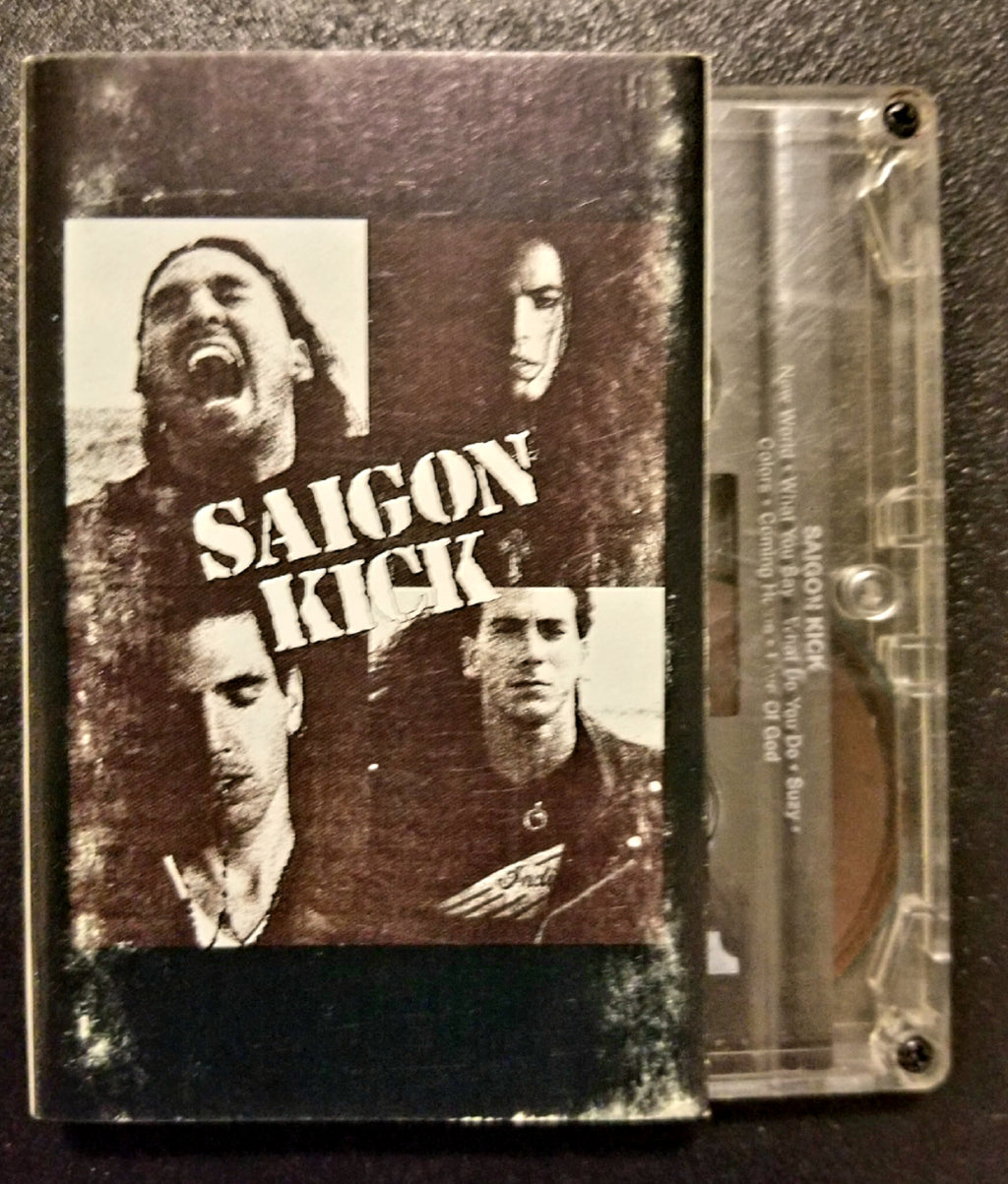 SAIGON KICK Self-Titled, S/T, Same Cassette